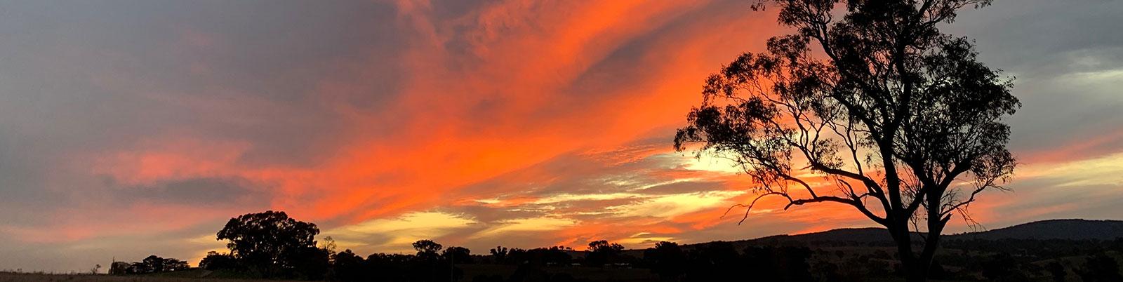 Bathurst Country Sunrise